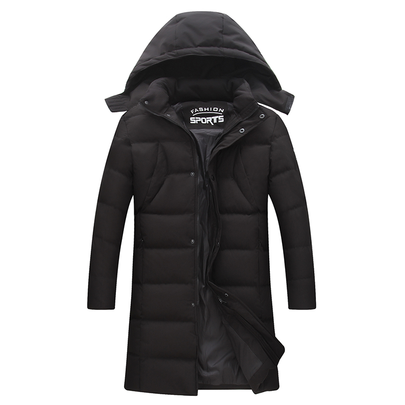 plus size  New Hot Qualited Thick Warm Zipper Unique Designer Mens Winter Jackets Padded Jacket Men Long Parka Coat With Hood e artist men s long winter jacket velvet padded jackets trench coats parka thick fit casual outdoor black wine plus size 5xl a65