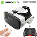 Óculos de realidade virtual óculos 3d originais bobovr z4/bobo z4 mini google caixa de papelão vr vr 2.0 para 4.0 ''-6.0'' smartphones