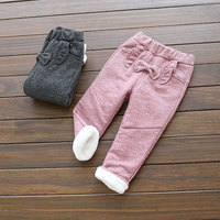 2017 Autumn Winter Newbons Baby Girl Leggings Thick Warm Pants For Infant Girls Outerwear Children S