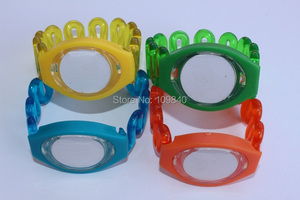 Image 3 - 70 sztuk niebieski kolor opaska rfid bransoletka EM4100