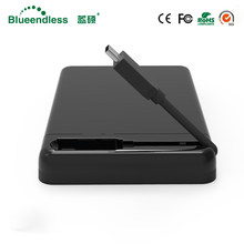 Externo usb hdd adapter Loại C sata sata hdd caddy 2.5 hdd enclosure usb 3.0 GBPS hdd 5 box hd enclosure cho 7/9 mét cứng ổ đĩa(China)
