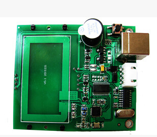 2 pcs lot uart rs232 13 56 KHZ RFID card module