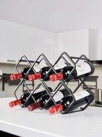 Creative wine rack decoration goblet rack upside down home wine display stand creative modern minimalist wine rack