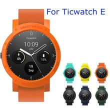 Anti-knock Watch Case For Ticwatch E Scratchproof Hard Shell Protector For TicWatch Smart Sport Watch Accessories Movement Cases(China)
