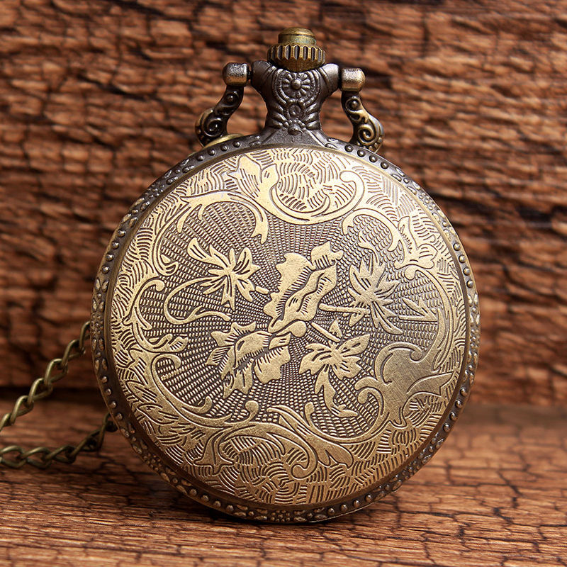 Retro Antique Μπρονζέ Μικρή πριγκίπισσα - Ρολόι τσέπης - Φωτογραφία 4