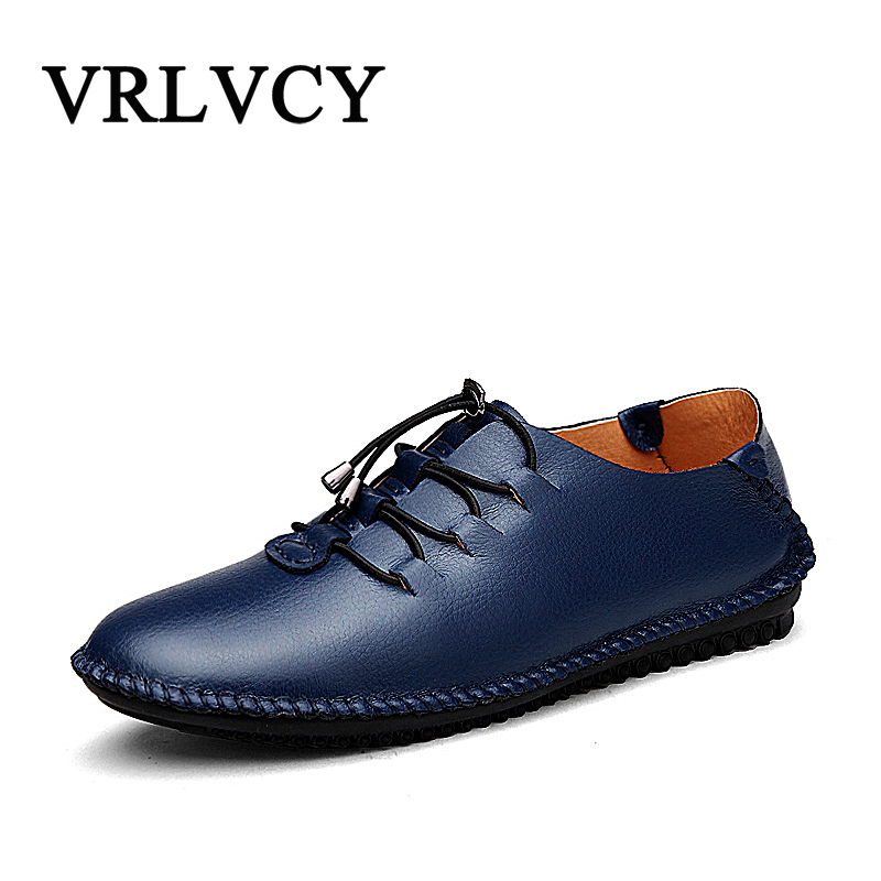 Brand Fashion Genuine Leather Men Shoes Soft Men's Loafers Mens Flats High Quality Men Moccasins Man Footwear Driving Shoes men casual shoes genuine leather fashion moccasins men flats loafers soft bottom leisure driving shoes male footwear rmc 411