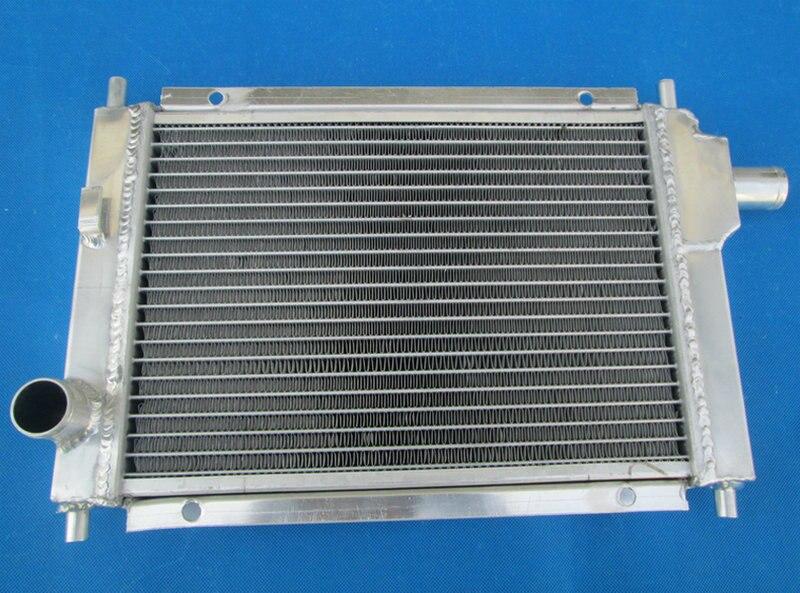 1.3L Manual UK PRO 2 ROW Aluminum Radiator For 97-01 MINI COOPER S MPI 1275