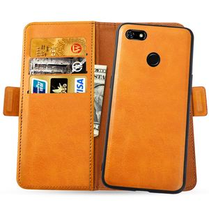 Image 4 - For Google Pixel 3a 3a XL Case Removable PU Leather Flip Stand Magnetic Wallet Case For Google Pixel 3A XL Case Rotate Card Slot