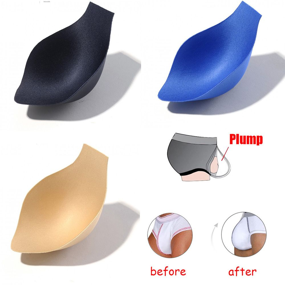 Enhancing Cup Padded Mens Underwear Sexy Men's Bulge Enhancer Cup Insert Magic Enhancing Men Underwear Removable Push Up Cup