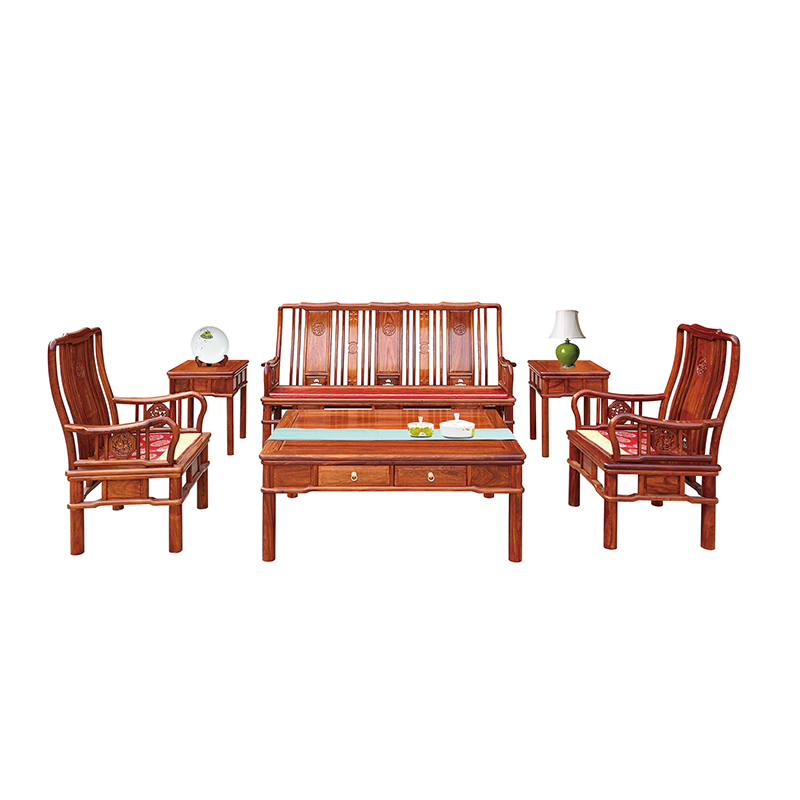Us 5000 0 Wood Furniture China Mahogany Furniture Hedgehog Rosewood Living Room Sofa Set Chair Coffee Table 6 Piece Set In Living Room Sets From