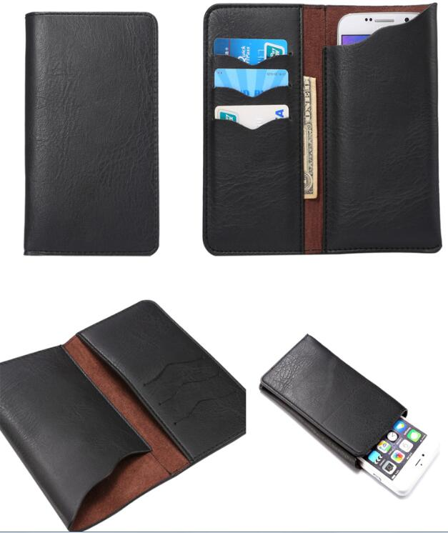 Universal Wallet Card Money Case Leather Case For Google Pixel/Google Pixel XL/Vernee Thor E Bag Case With Card Holder