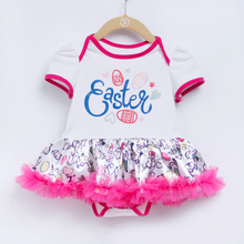 YK&Loving Newborn Easter Clothes Baby Girls Clothing Set My First Easter rabbit Baby Ruffle Tutu Dress NewBorn Clothing newborn baby girls christmas costume tutu dress my first christmas baby clothes set headband xmas socks new born baby clothing