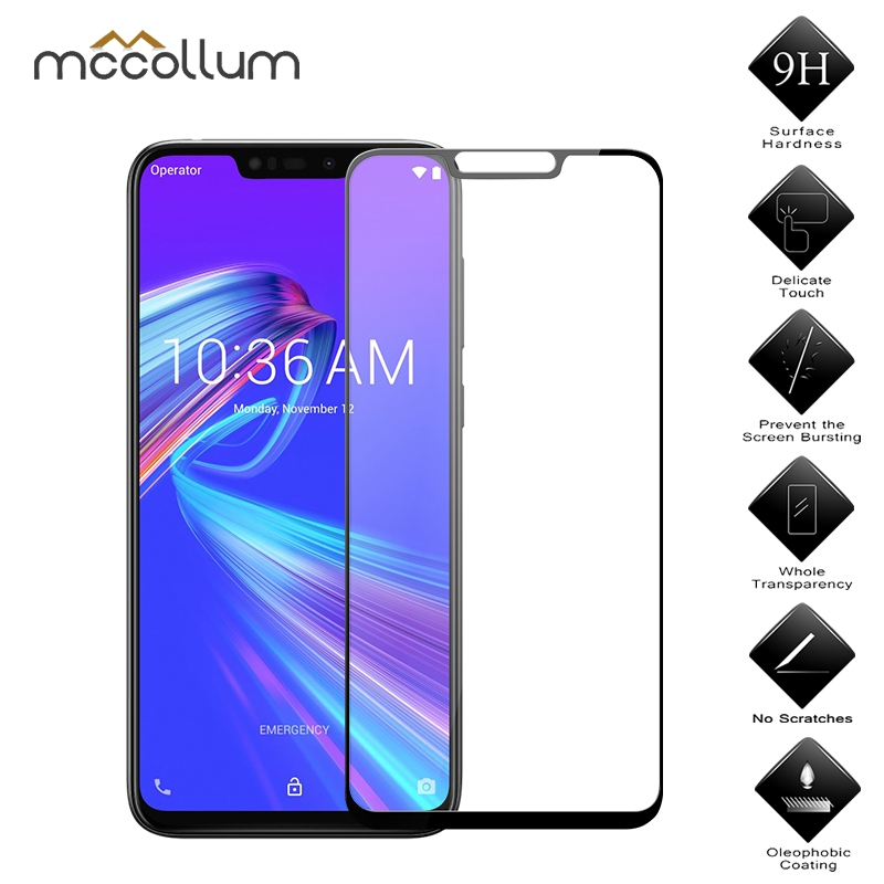 Full Cover Glass Film For Asus Zenfone Max M2 ZB633KL Tempered Glass Asus Zenfone Max M2 ZB633KL ZB 633KL Screen Protector