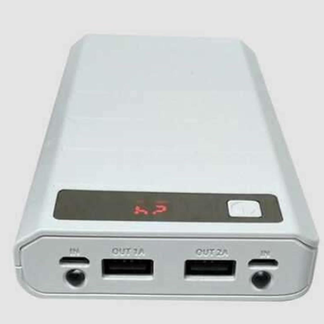 Marsnaska Venda Quente Portátil Banco De Potência USB Box Shell DIY Móvel USB Power Bank Charger Case Pack 8pcs 18650 suporte da bateria LCD