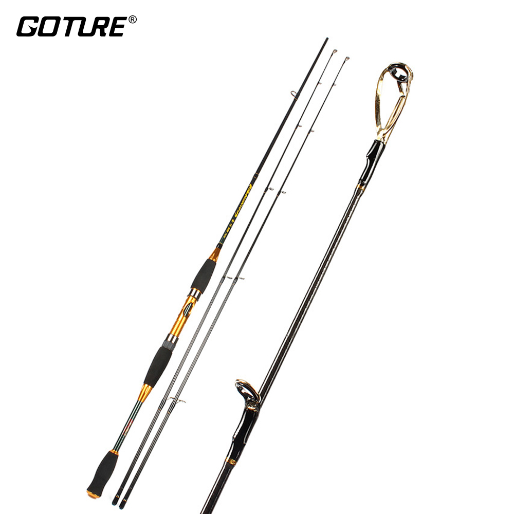 Buy goture two tips carbon fiber fishing for Carbon fiber fishing rod