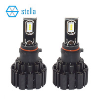 P13W 50W 6800Lm 6000k 99 Canbus LED Headlight Foglight Car Styling Led Head Lamp Bulb Error