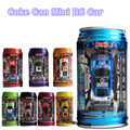 Baby Toys 1:63 Mini Coke Can Mini RC Car Electric Toys Crro Speed Truck Radio Remote Control Micro Racing Vehicle Toy Gift