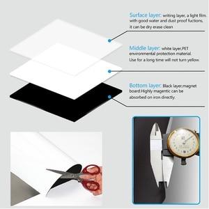 Image 4 - Tablero inteligente vinilo nevera imán pizarra magnética imanes Oficina Bloc de notas inicio planificador escritura tablero organizador Bloc de notas