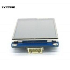 "Image 3 - 5 개/몫 영어 nextion 2.4 ""tft 320x240 uart hmi lcd 모듈 디스플레이 터치 스크린 라스베리 파이"