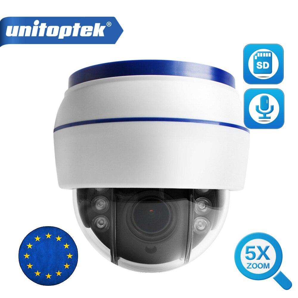 Sans fil Vitesse Dôme PTZ IP Caméra Wifi HD 1080 p 960 p Mise Au Point Automatique 5X Zoom 2.7-13.5mm intérieur Audio Carte SD IR Nuit Onvif P2P