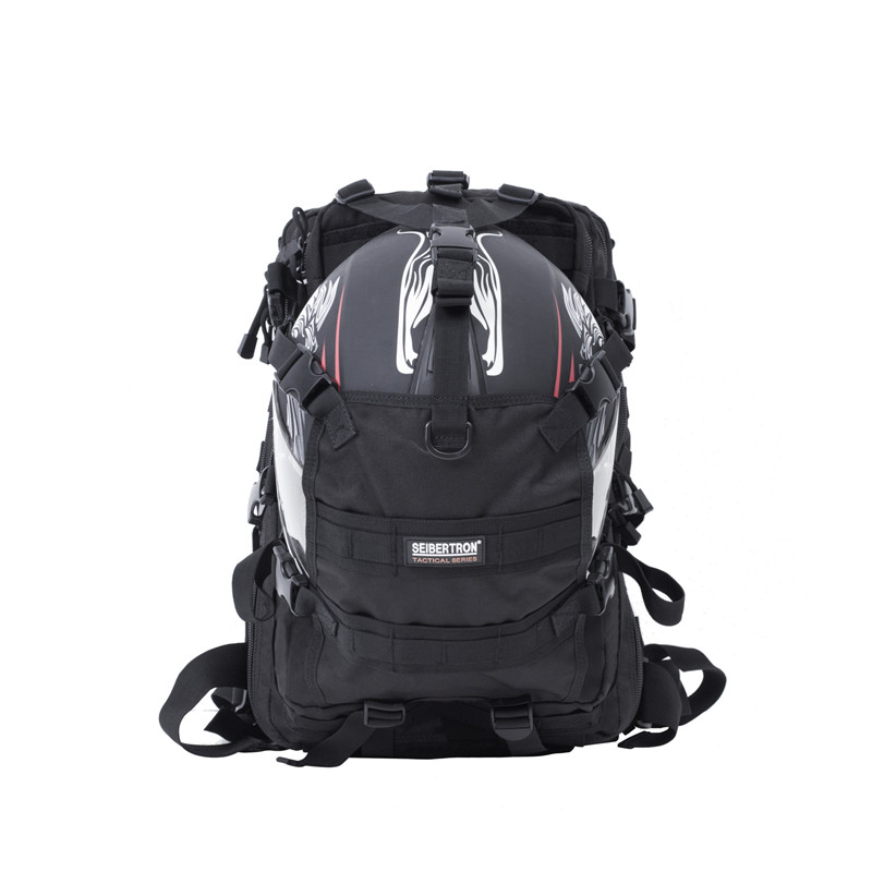 Seibertron New 900D Polyester 40L Waterproof  Backpack Outdoor Sport Large Capacity Helmet Bag Cycling Hiking Hunting Softback