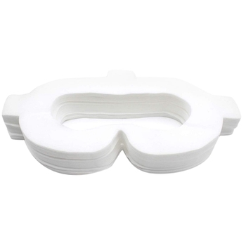 Amvr Vr Face Pad Cover Non-Woven Fabric Disposable Hygiene Mask With Magic Sticks For Oculus Go (50 Pcs) 1