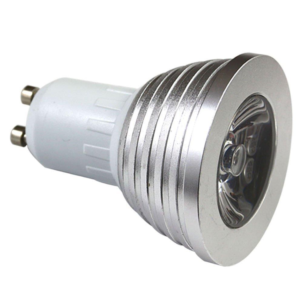 10 ชิ้น GU10 4 วัตต์ RGB หลอดไฟ LED - แสงในร่ม