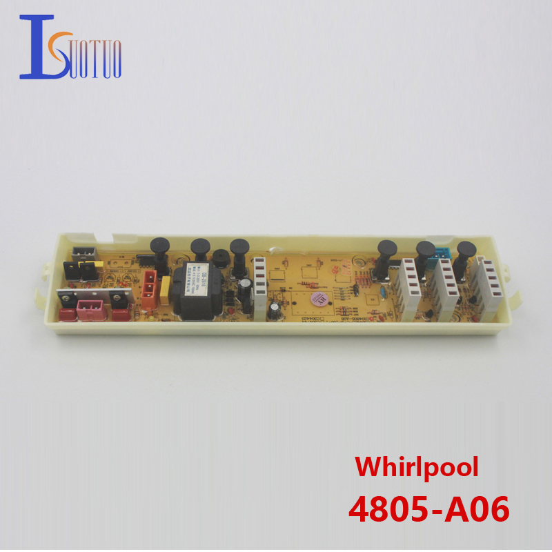 Original Whirlpool washing machine motherboard 4805-A06 new spot commodity whirlpool washing machine computer board 402 brand new spot commodity