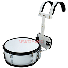 Afanti Music 14 inch Silver Marching Drum MAD 1021