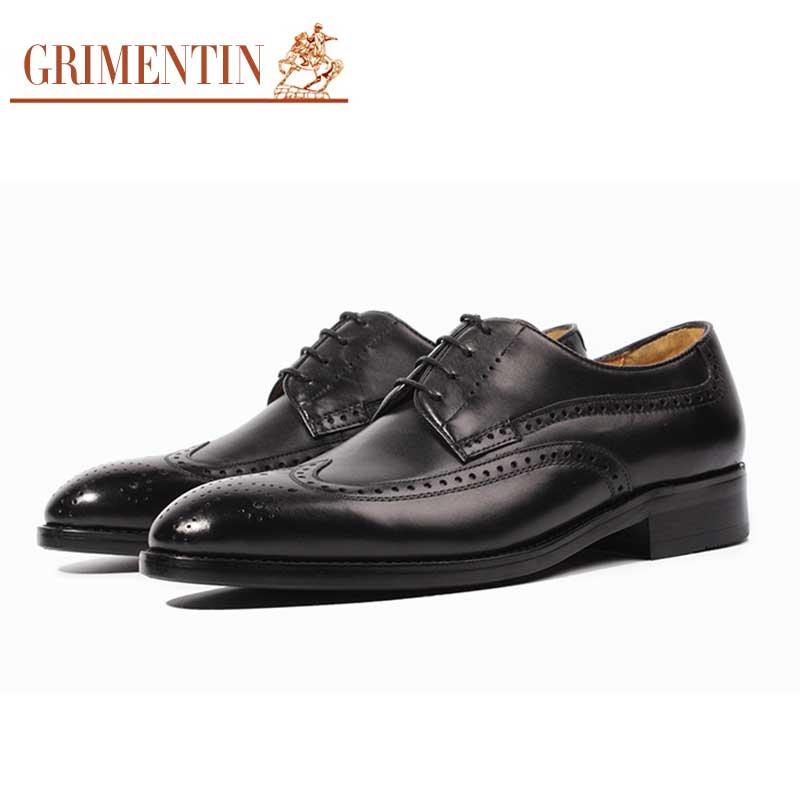 Calidad Hecha Italianos Mano Vestir Hombres Cuero Grimentin Zapatos Alta Genuino Los A Goodyear Personalizada De fvEwxnWqAU
