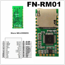 (1 szt.) FN RM01 FN RM01 port szeregowy moduł nagrywania MP3 moduł nagrywania telefonu