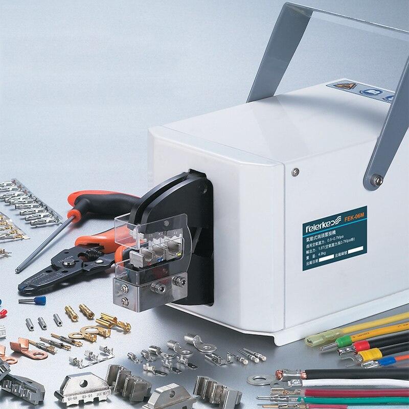 FEK-06M Pneumatique Type Sertissage D'air de Machine À Sertir pour Différents Terminaux Câble outils De Sertissage De Fil Outil