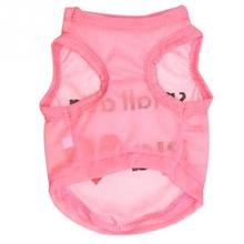 Fashion Spring Summer  Pet Supplies Dog Clothes Cute Polyester Cotton Shirts For Small Pet Dogs 4 Sizes XS-L