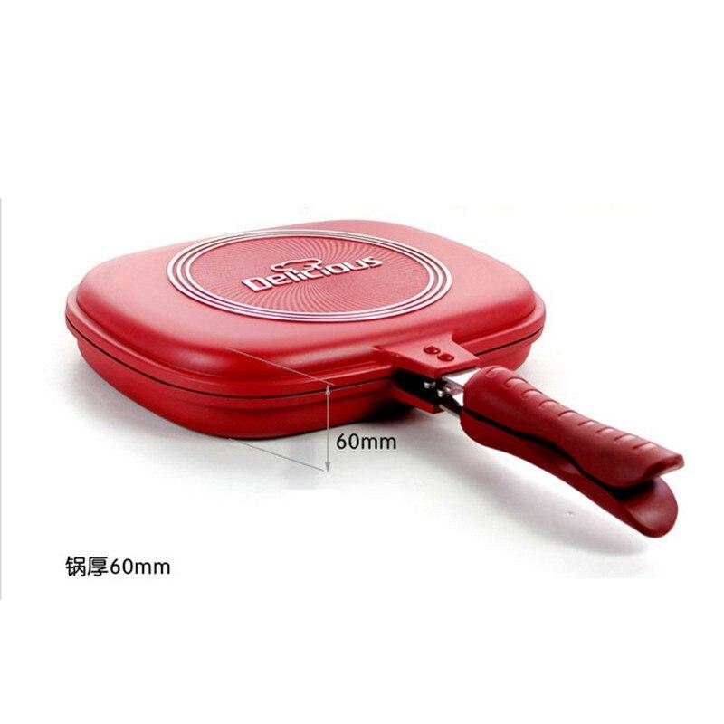 30cm Aluminum Non Stick Europa Pan Cookware Double Face Pan Steak Fry Pan Pancake Cookware With