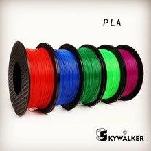 3d filament pla filament 1.75/3mm orange color pla 3d printer filament pla filamento1kg 3d printer extruder 1.75 pla filament