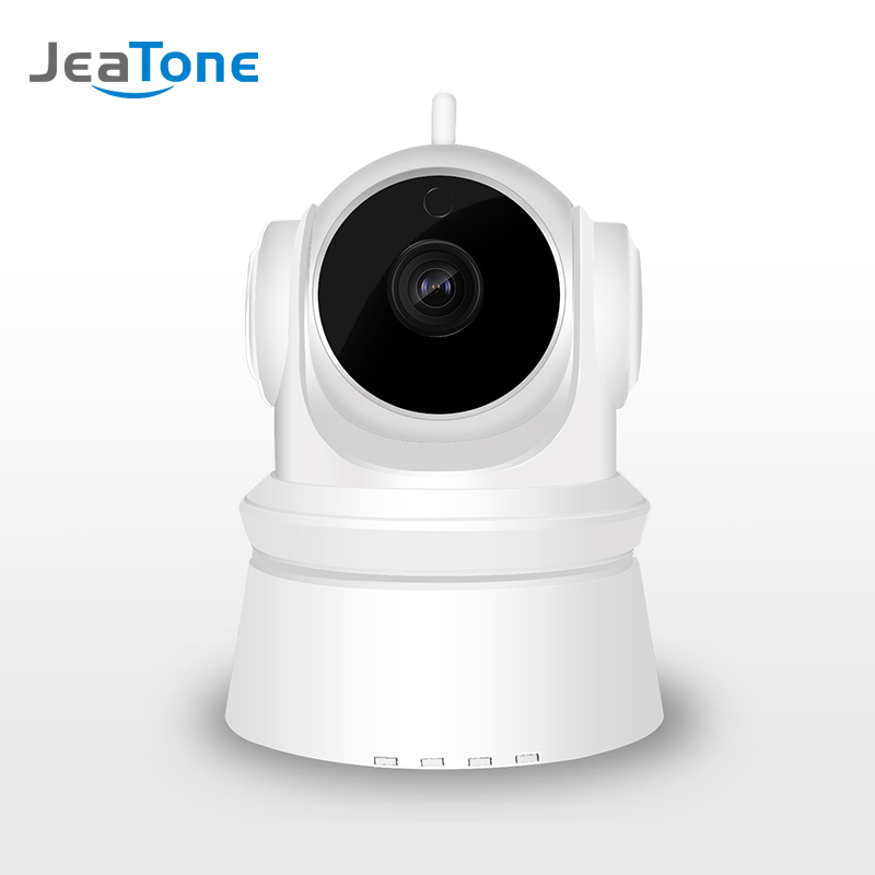 JeaTone 2MP HD 1080P Wifi IP PTZ Camera IR-Cut Night Vision Two Way Audio CCTV Surveillance Smart Camera SD Card View Yoosee APP