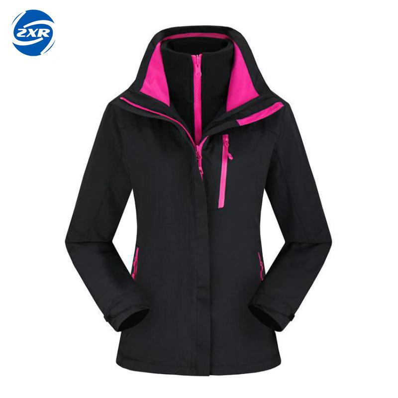 Winter Women Fleece Hiking Jacket Outdoor Waterproof Windproof Camping Female Hooded Fishing Ski Clothing detector men ski jacket hight waterproof mountain hiking camping jacket fleece hight windproof ski jacket