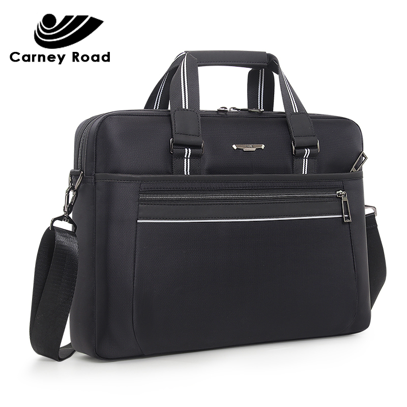 Brand Waterproof Business Men's Briefcase Oxford 15.6 Inch Laptop Bag Causal Men Handbag Fashion Daily Carry Tote Shoulder Bag