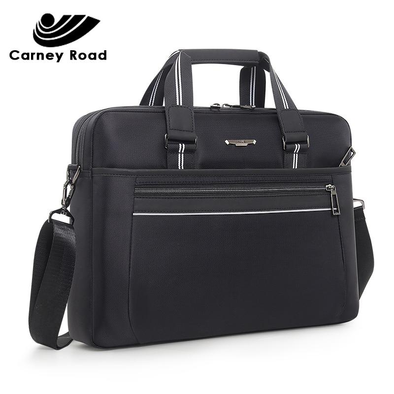 Brand Waterproof Business Men's Briefcase Oxford 15.6 Inch Laptop Bag Causal Men Handbag Fashion Daily Carry Tote Shoulder Bag