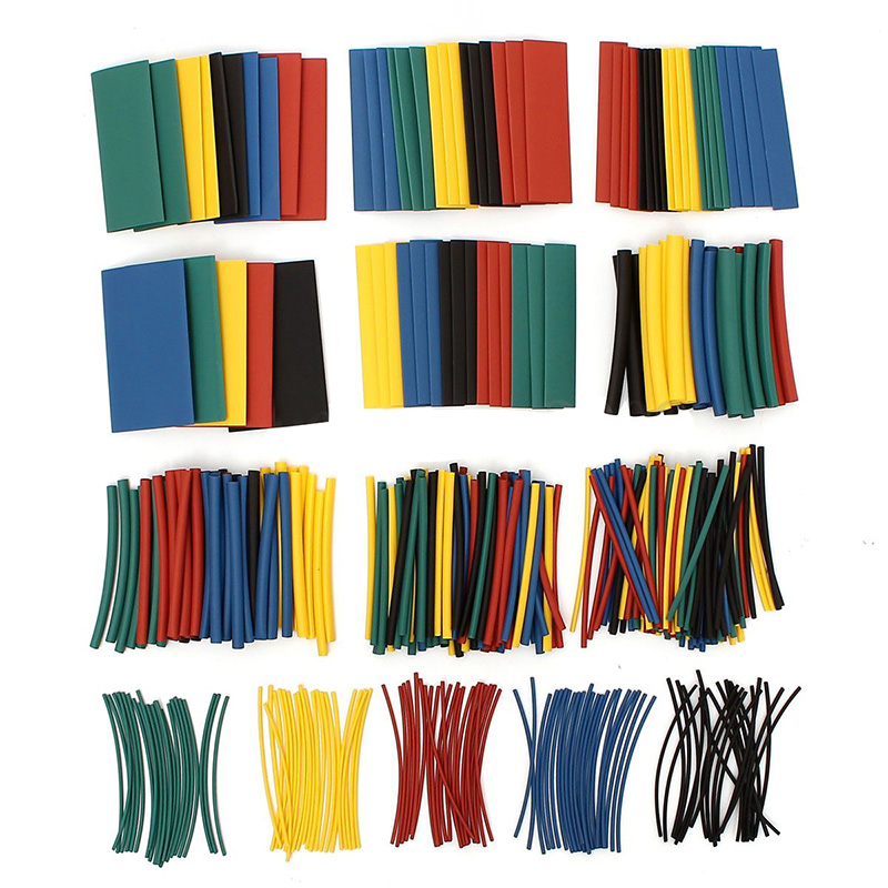 410 pcs shrink tubing Thermoset matched 2: 1 Ratio Pipe Tube