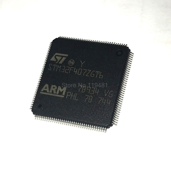 STM32F407ZGT6 LQFP MCU 32-bit STM32 ARM Cortex M4F RISC 1024KB פלאש 2 5  V/3 3 V 144-Pin