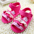 2016 lovely summer baby girl shoes infant toddler denim shoes fashion  bowknot soft bottom first walker shoes