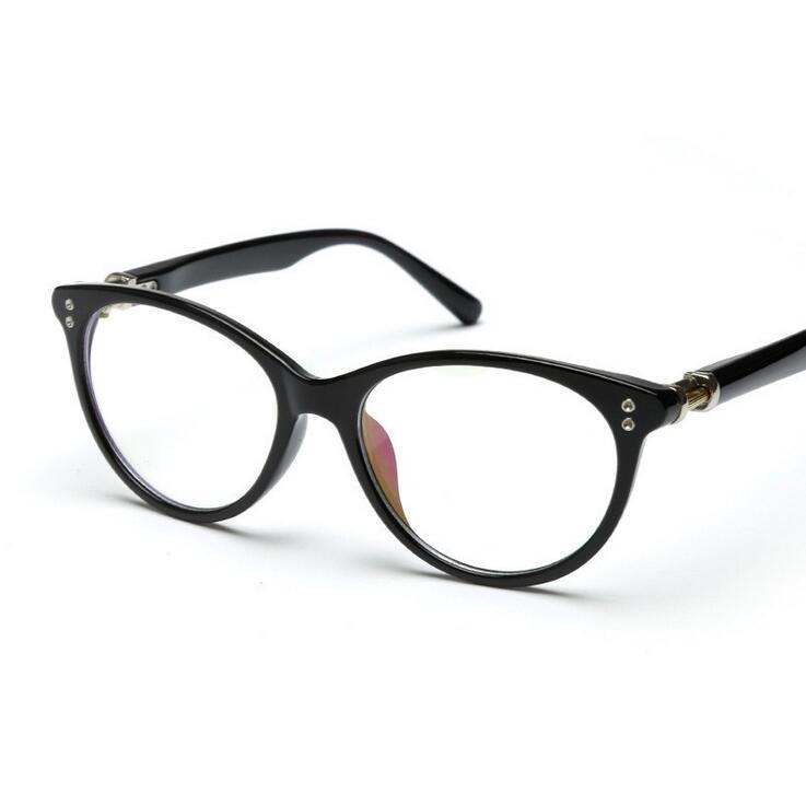 Green Frame Fashion Glasses : Fashion Cats Eyes Womens Optical Glasses Frame For Women ...