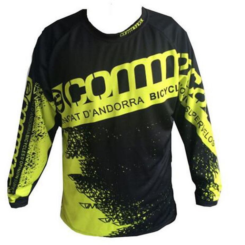 New Style Commencal Riding Off-road Long Sleeve Men Motocross Bike Downhill Jersey MOTO GP Sports Cycling T-Shirt Racing