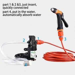 Image 5 - Car Washer Gun Pump12V High Pressure Cleaner Care Electric Washing Machine Auto Car Wash Maintenance Tool Accessories