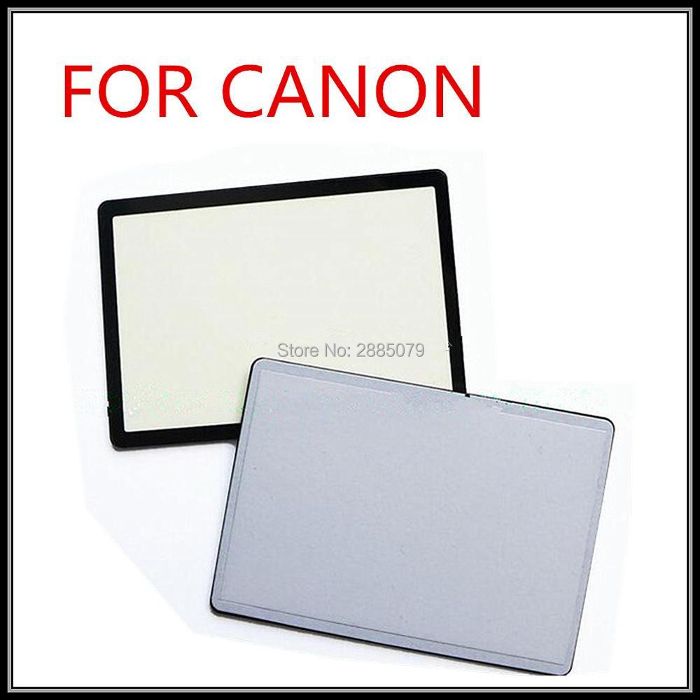 New 450D 500D 550D 600D LCD Screen Window Display Glass For Canon 550D 450D 500D 600D Camera Replacement Unit Repair Parts