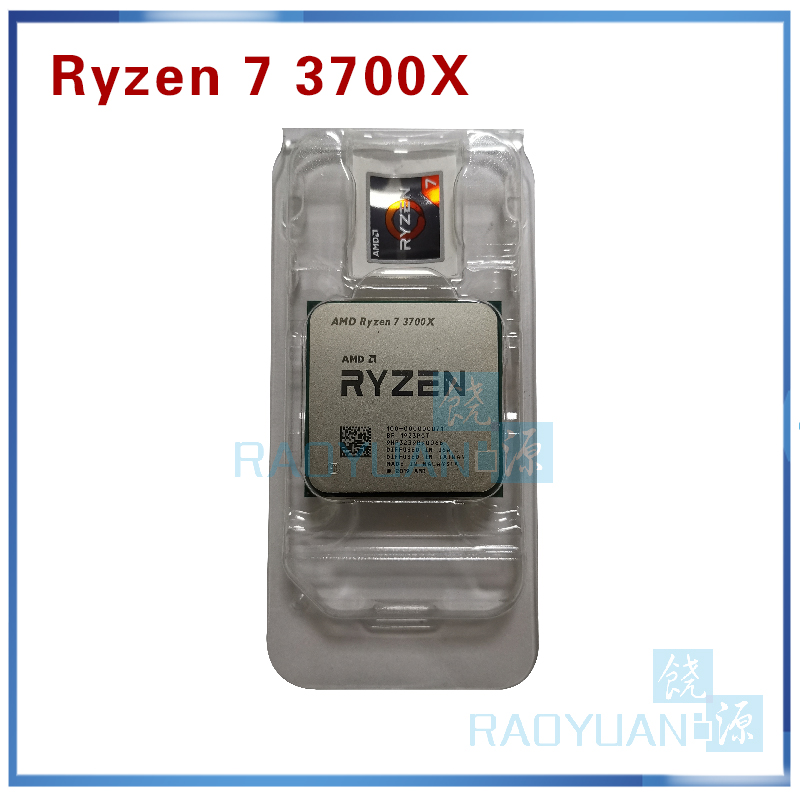 AMD Ryzen 7 3700X R7 3700X 3.6 GHz 7NM L3=32M 100-000000071 Eight-Core Sinteen-Thread CPU Processor  Socket AM4