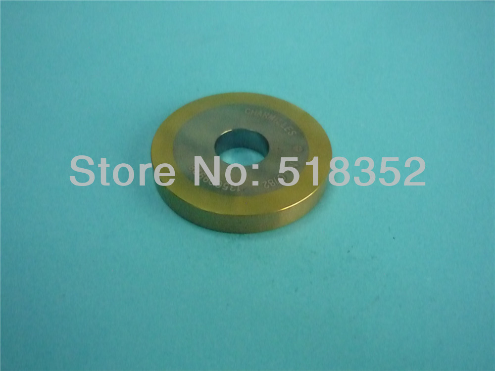 100542999 Charmilles C409 Lower Driving Roller 40mm(OD) X 12mm(ID) X 6 mm(T) for WEDM-LS Wire Cutting Machine Spare Parts100542999 Charmilles C409 Lower Driving Roller 40mm(OD) X 12mm(ID) X 6 mm(T) for WEDM-LS Wire Cutting Machine Spare Parts