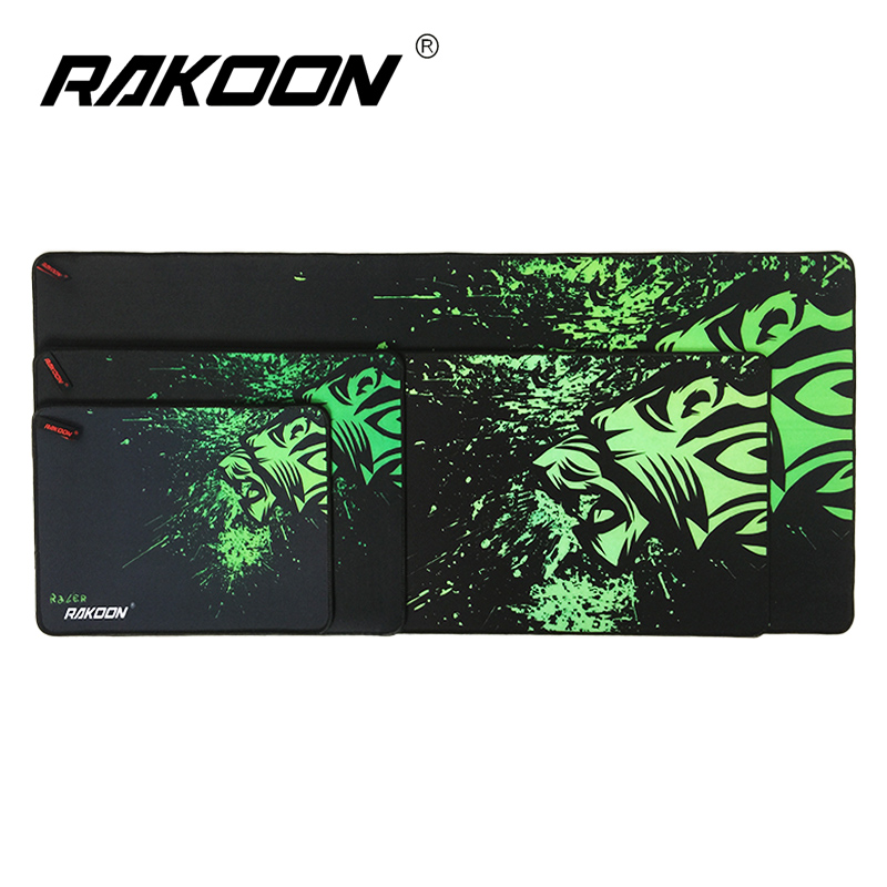 Rakoon Luxray Gaming Mouse Pad Locking Edge Mouse Mat Control/Speed Version Mousepad For CS GO Dota 2 stitched edge rubber cs go large gaming mouse pad pc computer laptop mousepad for apple logo style print gamer speed mice mat