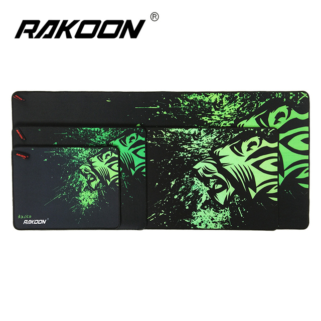 Rakoon Luxray Gaming Mouse Pad Locking Edge Mouse Mat Control/Speed Version Mousepad For CS GO Dota 2